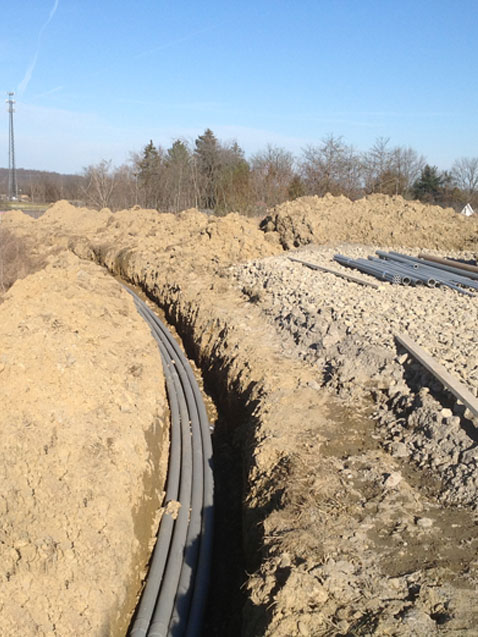 Surprising Trenching For Underground Utilities Excavation Services Butler Wiring Cloud Usnesfoxcilixyz