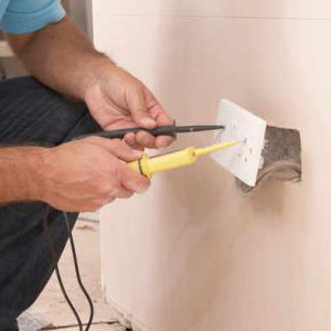 Home electrical appliance installation